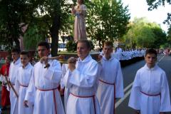 93 lektorzy z figurą Małego Pana Jezusa