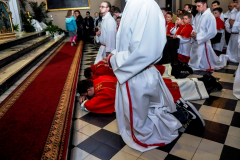 52 Liturgia Męki Pańskiej, prostracja