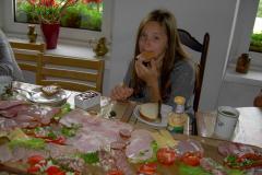 17 ostatnie śniadanie w Bysławku