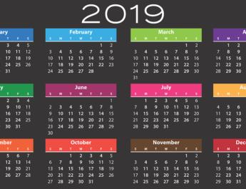 Kalendarium Styczeń 2019