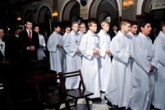 23 starzy i nowi lektorzy w procesji