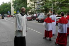 21---ks. Marek na czele procesji