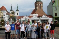 08 na rynku w Chojnicach
