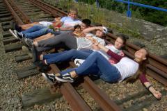 11 na trasie kolei drezynowej
