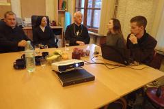 spotkanie z młodymi z Projektu a Paulo