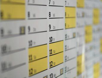 Kalendarium kwiecień 2021r.